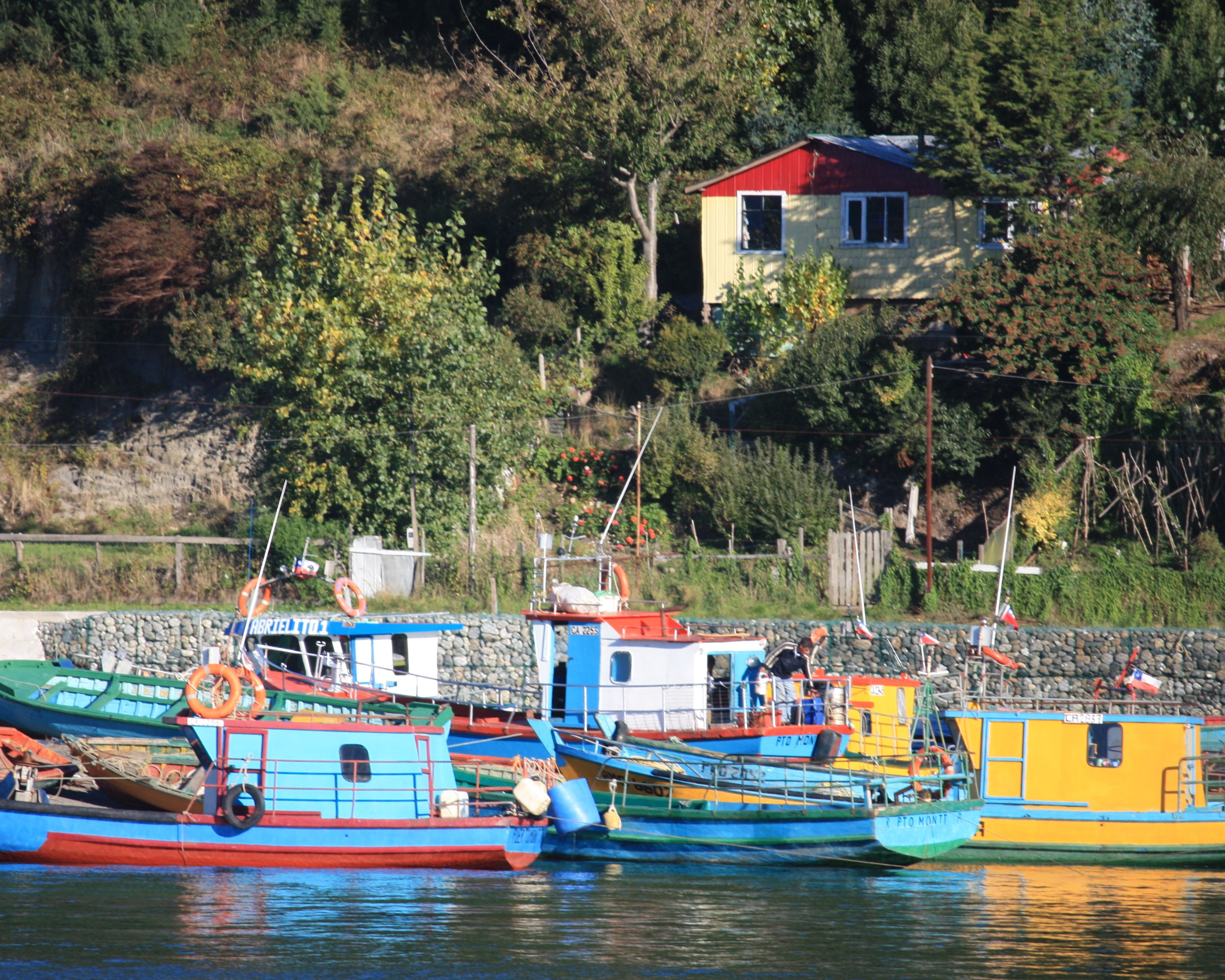 Boats, Puerto Montt, Chile