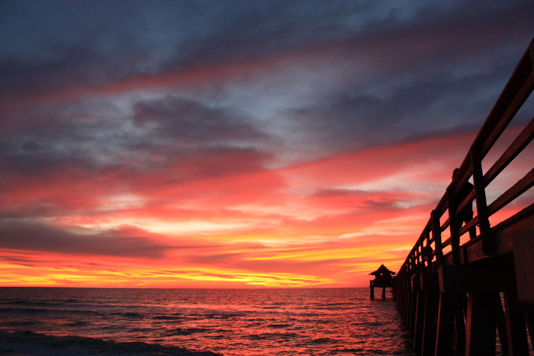 Naples Pier at SunsetResizedForWebsite