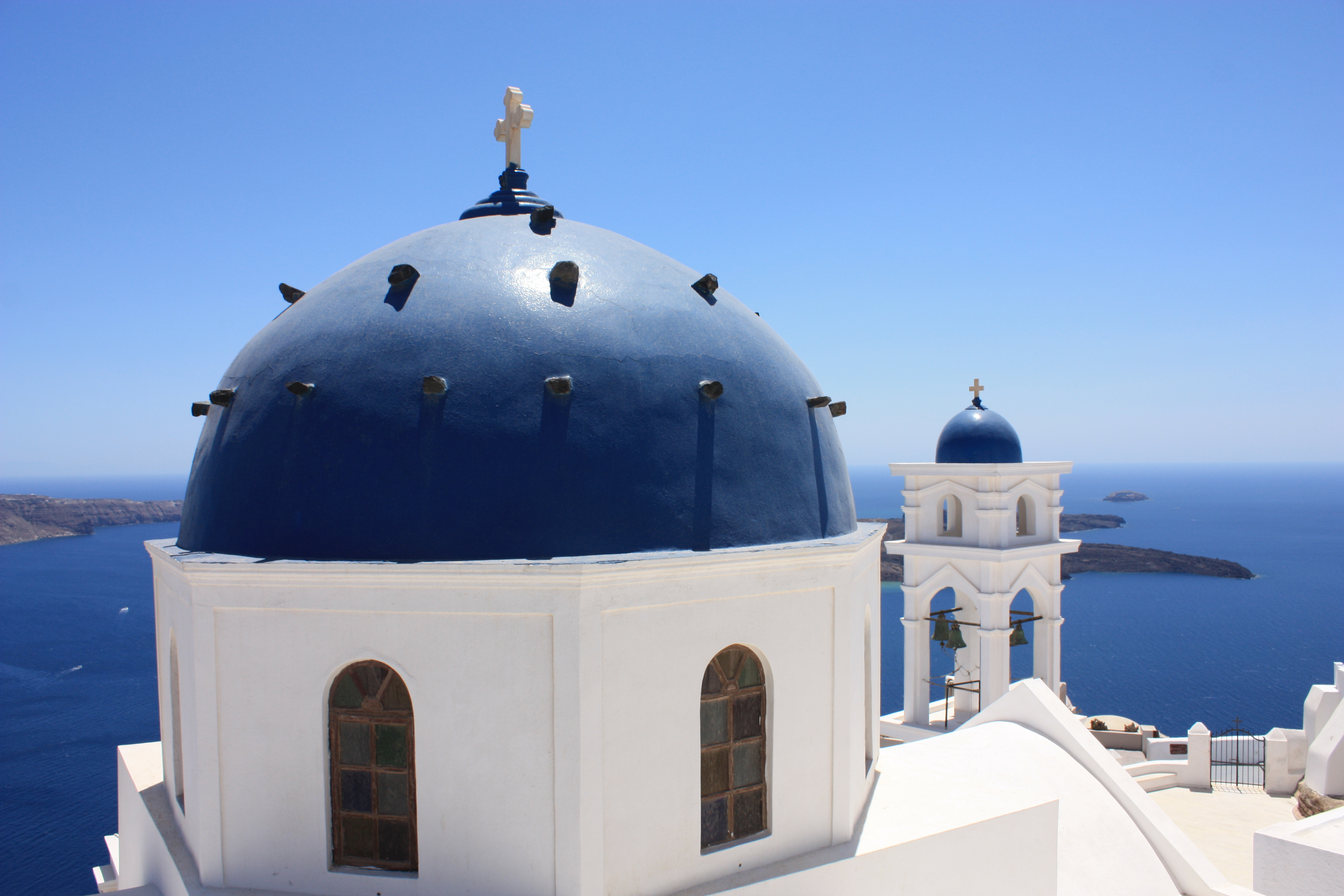 Blue and White, Santorini, Greece