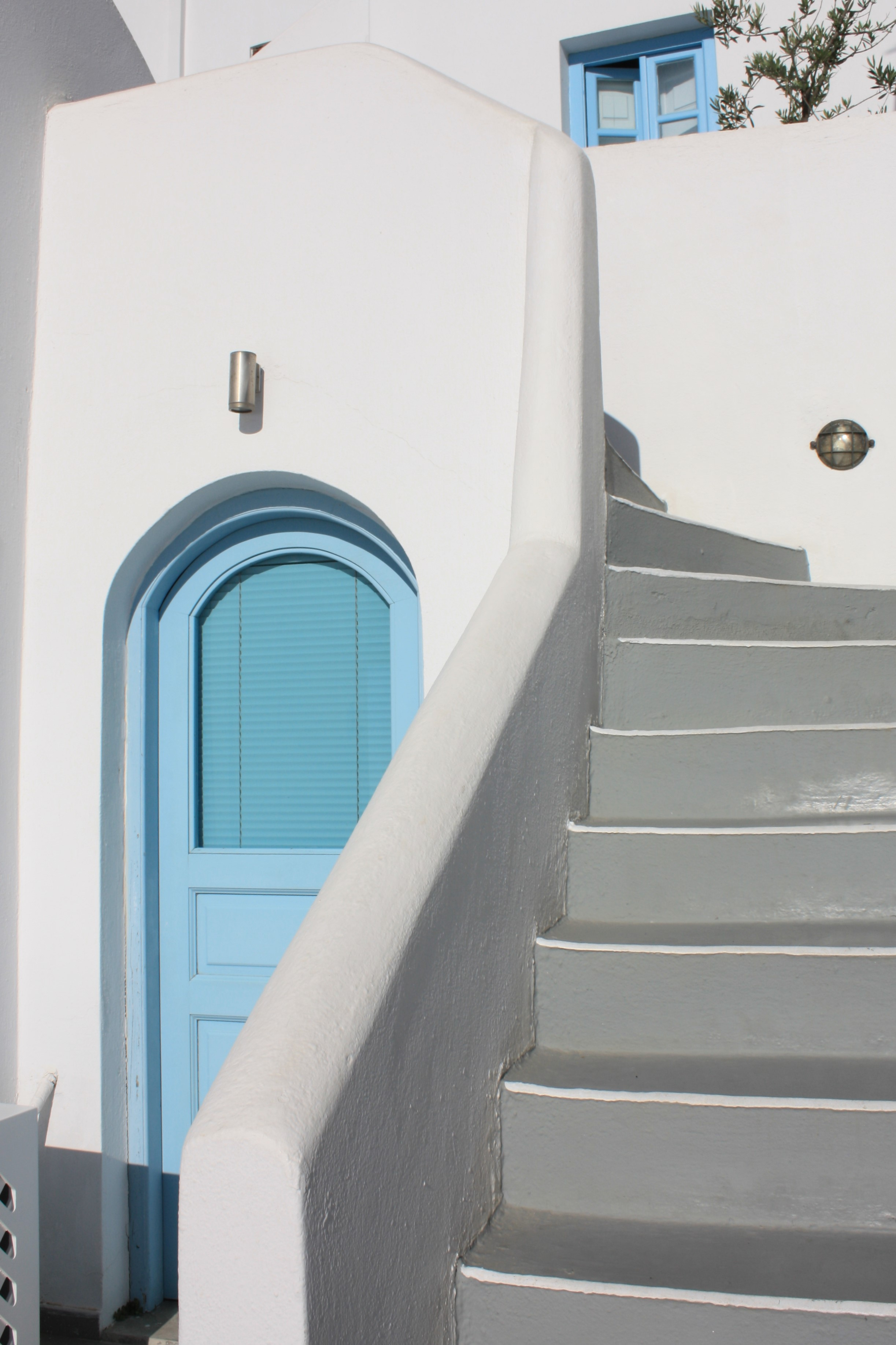 Stairs To ....., Santorini, Greece